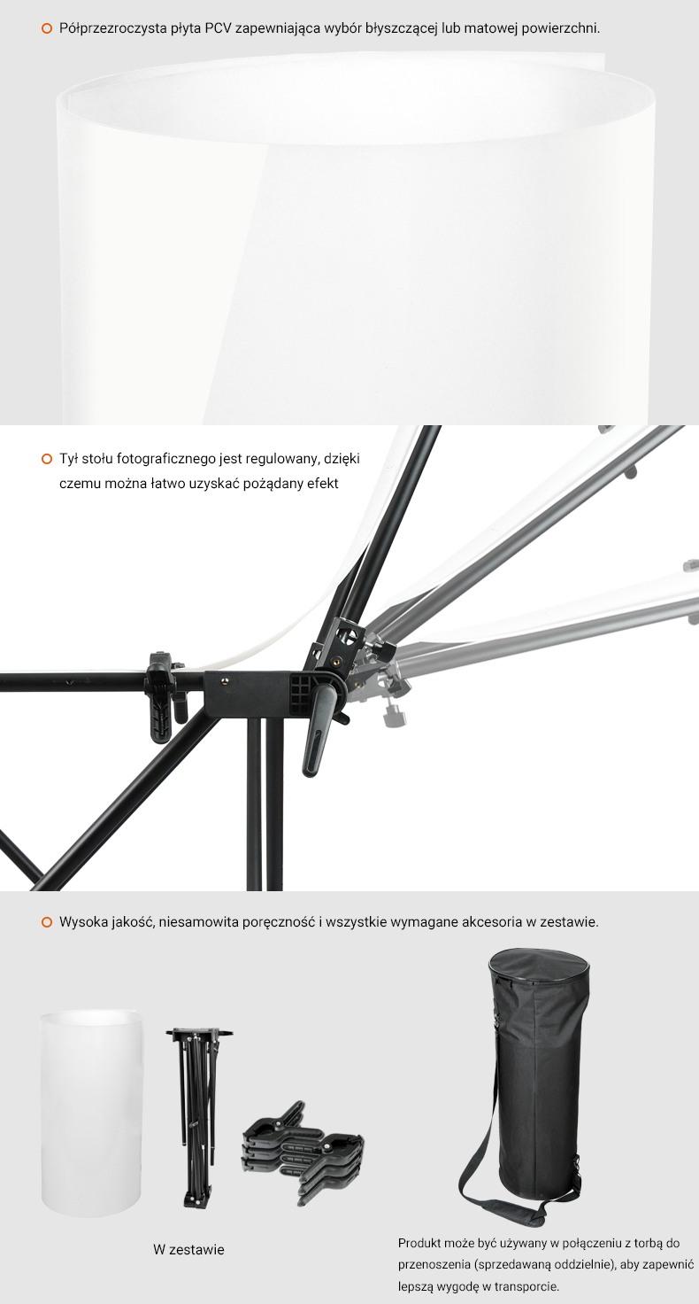 Montaż stołu Godox FPT60