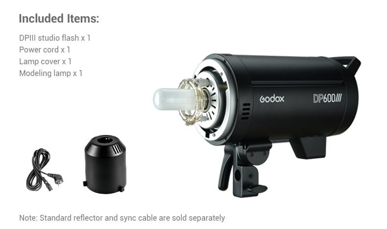 Godox DP III lights included items